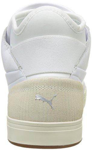 Baskets Pumas Basse Citi Jeu Blanc blanc Pumas 02 D'adultes Blanc top Murmure Unisexe TRARwq4p