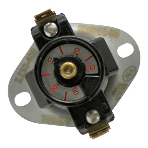 Protactor Adjustable Furnace Fan Control 90-130 Degree ()