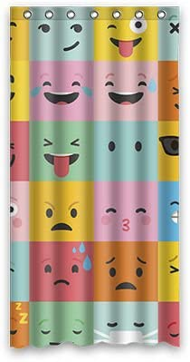 Personal Custom Emoji disfraz cortina de la ducha Shower Curtain ...