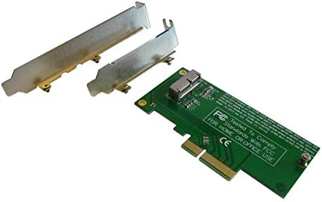 Adapter World - Adaptador de disco duro SSD a PCI-e 4X, para SSD ...
