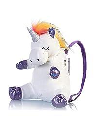 Meowtastic - Mochila para niños, diseño de unicornio pequeño