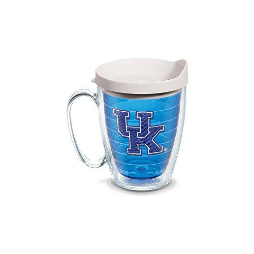 Kentucky Sapphire (Tervis Kentucky Univ Emblem 16oz Mug Sapphire Inner with White Lid, Clear)