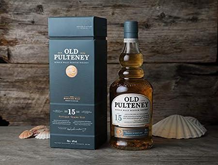 Old Pulteney 15 Años Single Malt Whisky 46% - 700 ml