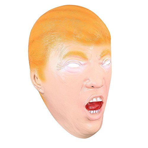 CHIMAERA Donald Trump Halloween Costume Party Latex Mask One Size Adult Orange