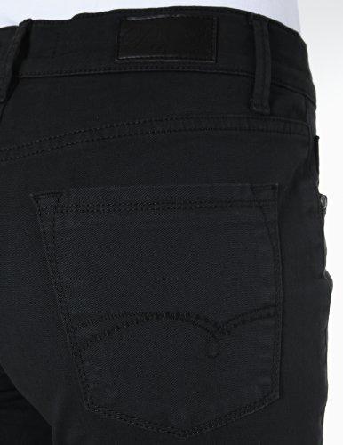 Pioneer - Pantalón regular fit para mujer Negro (00 black)