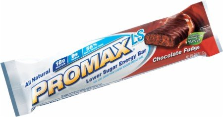 (Promax Low Sugar Energy Bar, Chocolate Fudge, 2.36 oz. Bars, 12-Count)
