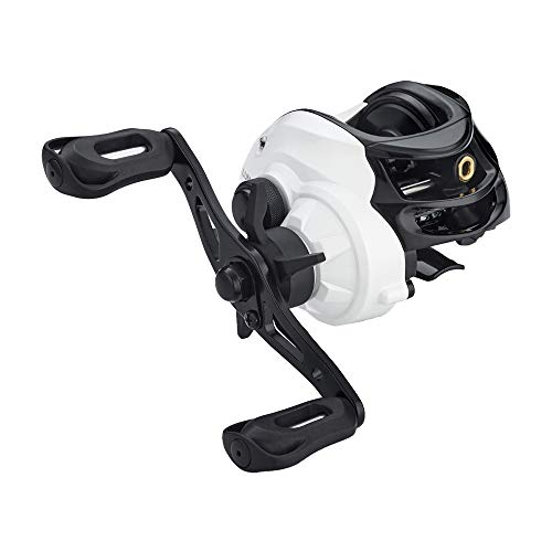FISHDROPS Baitcasting Reels Light Weight with Smooth Drag Systems Fishing Reel Baitcasting Classic Gear Ratio 6.3:1 Affordable Low Profile Baitcaster (Best Affordable Baitcasting Reel)
