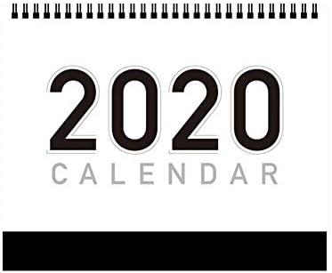 Kitabetty Kalender 2020, Desktop-Zeltkalender Freistehender Desktop Monatskalender Tischkalender Planungskalender, Doppelseitiger Gebrauch, für Family Office und Schule