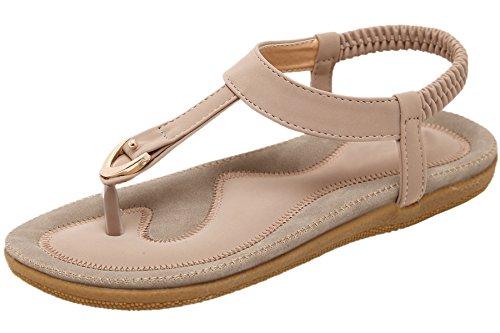 Bohemian For Women Sandals Pink Sandals By Flip BIGTREE Beach Flop Summer 85Syq