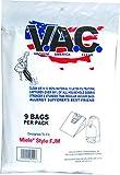 9 Cloth HEPA Bags Vacuum America Clean - Miele FJM Compatible Vacuum Bags, Miele Part # 7291640. Designed Vacuum America Clean to fit The Miele HyClean FJM Canister Vacuum Cleaner (New, 2018)