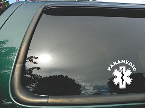 Paramedic Symbol- Die Cut Vinyl Window Decal/sticker for Car or Truck - Stand Pd For What Is
