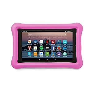 Amazon Kid-Proof Case for Amazon Fire 7 Tablet (7th Generation, 2017 Release), Pink