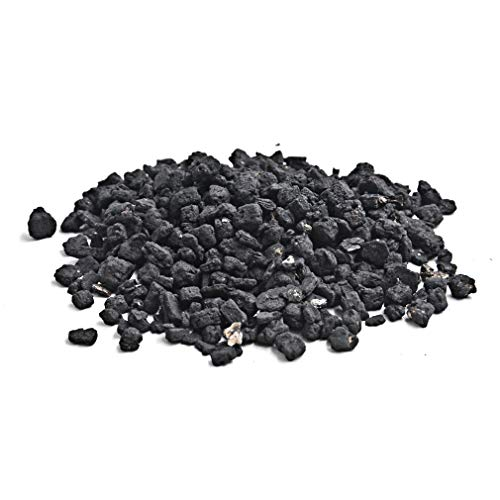 (Skyflame Black Vermiculite Granules for Gas Logs, 12 oz Bag)