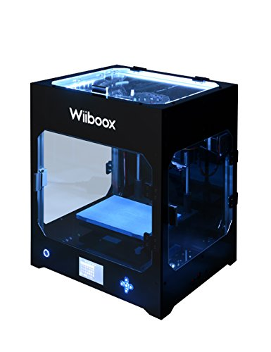 Wiiboox-CCP0000011-ONE-MINI-Desktop-3D-Printer-Single-Extruder-100-microns-78-x-59-x-59-1-Air-Particle-Filtration-Module-Metal-Frame-Structure-BlackWhiteYellowBlueGreenBrown
