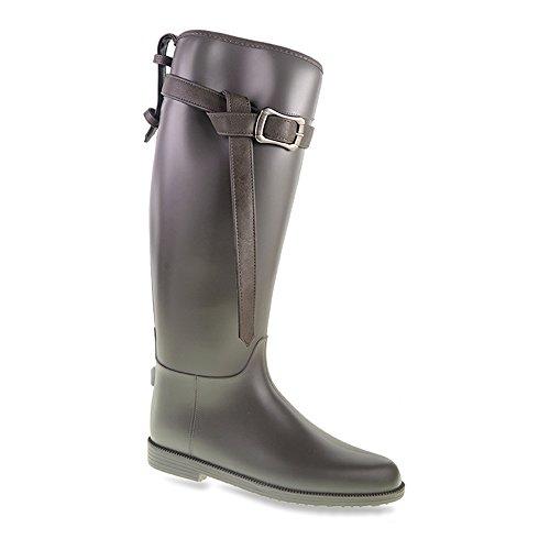 Lavanderia Sporca Da Bucato Cinese Womens Riff Raff Rain Boot Pvc Carbone