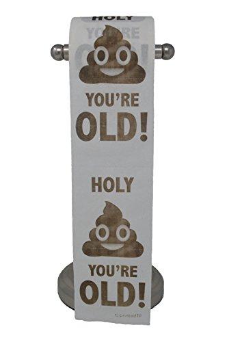 - Happy Birthday Toilet Paper Prank Funny Gag Gift!