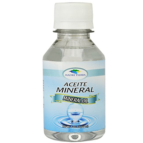 Madre Tierra Mineral Oil/ Aceite Mineral 4 oz
