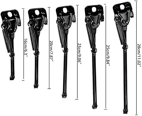 Bike Kickstand Side Stand Folding Bicycle Stand Support Rear Mount for Kids Bike Children/'s Bicycle Kickstand Single
