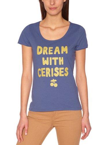Le Temps des Cerises - Camiseta para mujer Azul (Pebble 3151)