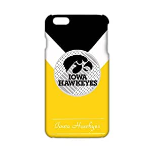 Fortune Iowa Hawkeyes NCAA Logo 3D Phone Case for iPhone 6 Plus