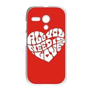 Motorola G Cell Phone Case White John Lennon HGC Photo Phone Covers