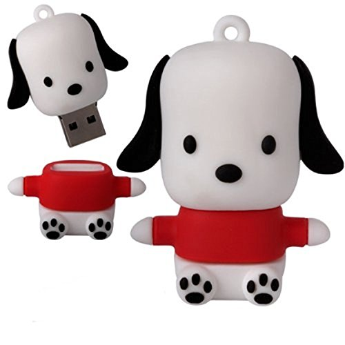 WooTeck 32gb Cartoon Novelty Dog Puppy USB Flash Drive - Usb Dog