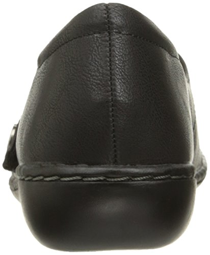 Hush Puppies Flat Mary Leather Doux Black Jayne Style Jane Par 0StwwqExf