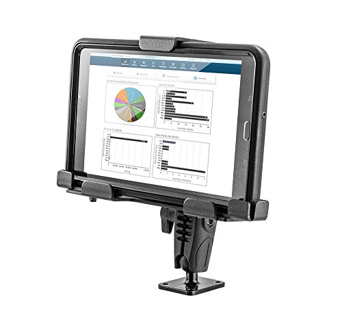 Arkon Locking Adjustable Tablet Mount with Key Lock for E-Log for Galaxy Tab LG G Pad iPad Retail Black by ARKON
