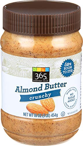 365 Everyday Value, Crunchy Almond Butter, 16 oz