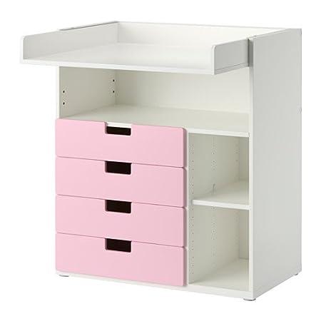 Ikea Cambiador con 4 cajones, Color Blanco, Rosa 20202.142017.3818 ...