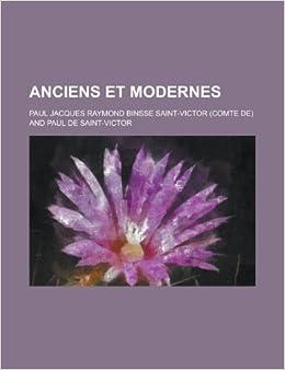 Book Anciens et Modernes