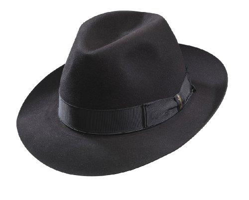 borsalino-beaver-fur-felt-hat-black-medium-brim