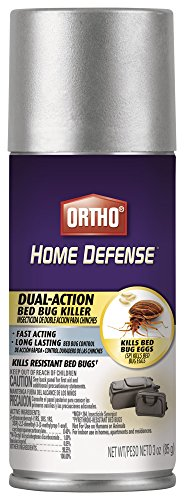 Ortho 0202310 Aerosol Travel Size Home Defense Max Dual-Action Bed Bug Killer