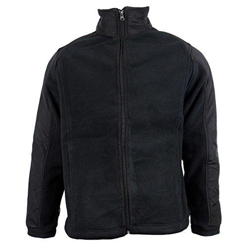 Anti Lavoro Da In Delta Pelucchi Pile Calda Zip Uomo black Invernale Chill Con Giacca q55HSC