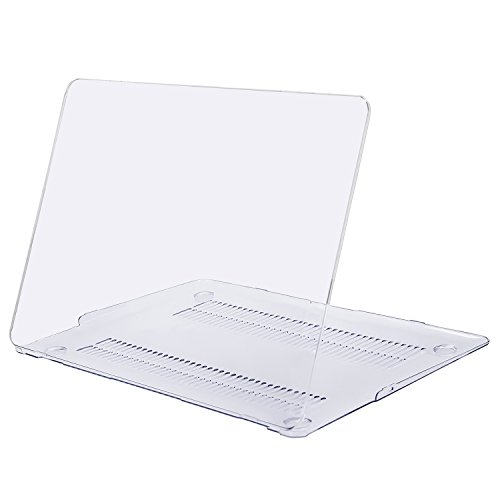 MOSISO MacBook Air 13 Inch Case (Release 2010-2017 Older Version), Plastic Hard Shell Case Cover Only Compatible MacBook Air 13 (Models: A1369 & A1466), Crystal Clear ()