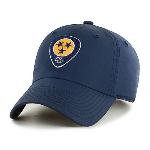 dedb117e038 OTS NHL Nashville Predators Male Wind Swept Challenger Adjustable Hat