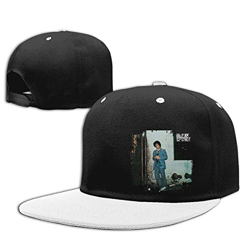 LEILEer Billy Joel 52nd Street Unisex Contrast Hip Hop Baseball Cap White