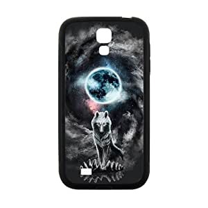 Custom Retro Deer Tribal Totem Wolf Pattern Plastic Hard Case for Samsung Galaxy S4