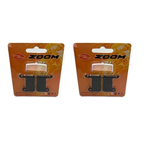 Two Pairs Zoom MTB Bike Brake Pads for HB-875 HB-870 HB-100 Shimano M595 M596 M585 M775 M355