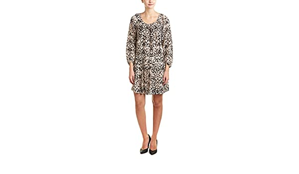 Amazon.com: Rebecca Taylor Womens Potpourri Paisley Print Silk Drop ...