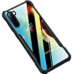 Amozo Back Cover for OnePlus NORD(TPU;Poly Carbonate/Transparent)