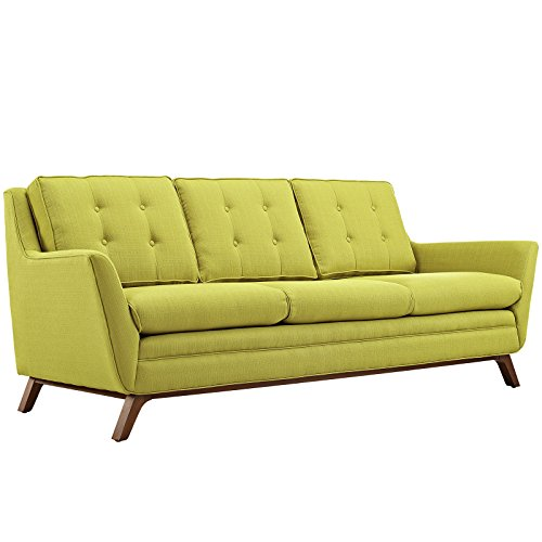 Beguile Fabric Sofa, Wheatgrass