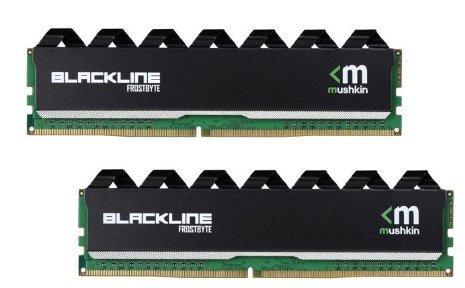 Mushkin Enhanced 16Gb  2 X 8Gb  Blackline Ddr4 Pc4 19200 2400Mhz 288 Pin Desktop Memory Model Mba4u240ffff8gx2