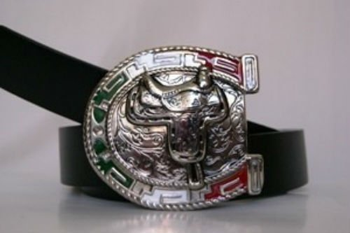 - ALBATROS Mexico Mexican Ranchero Horseshoe Belt Buckle for Home and Parades, Official Party, All Weather Indoors Outdoors