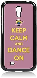 hgfdjhbvb Keep Calm and Dance On-Purple and Yellow- Hard Black Plastic Snap - On Case --Samsung? GALAXY S3 I9300 - Samsung Galaxy S III - Great Quality! by hgfdjhbvb