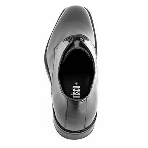 7 Fabricados Hasta con Tokio Zapatos de EN Piel Masaltos Negro Alzas Hombre Que cm Modelo Aumentan Altura tzPn8wq