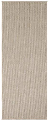 Ottomanson Jardin Collection Solid Design Runner Rug, 2' x 5', Cream - VERSATILE: Robust construction makes it ideal for high-traffic areas indoor or outdoor. DURABLE and LONG LASTING: Power-loomed in Turkey with %100 polypropylene. LOW-PILE HEIGHT is non-shedding and ideal for homes with pets and high-traffic. - runner-rugs, entryway-furniture-decor, entryway-laundry-room - 41t3JPGuieL -