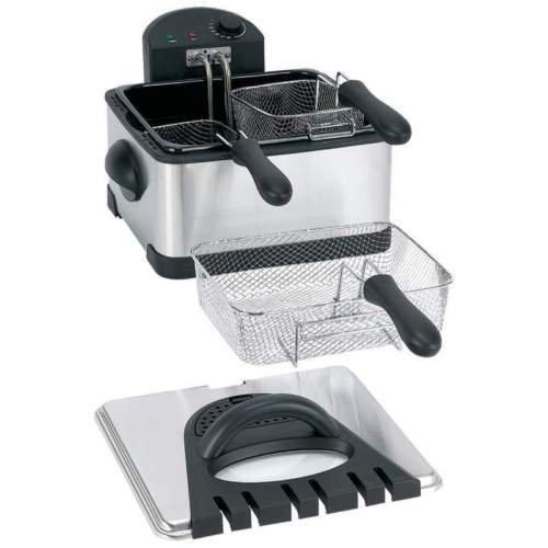 double basket outdoor fryer - 6