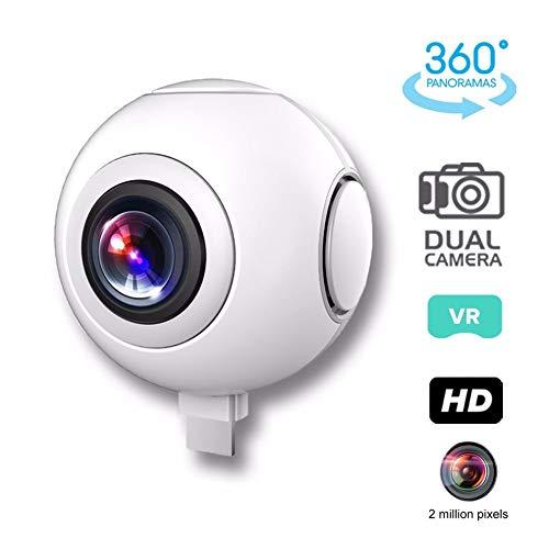 HUAXING V5 cámara de acción Deportiva Ultra HD videocámara 12MP WiFi Cámara Impermeable 360 Grado Amplio ángulo de...