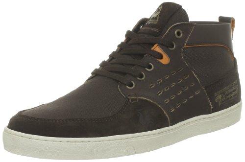 Le Coq Sportif 1310052_Marron (Chestnut/Rust) - Zapatillas de cuero para hombre Chestnut/Rust